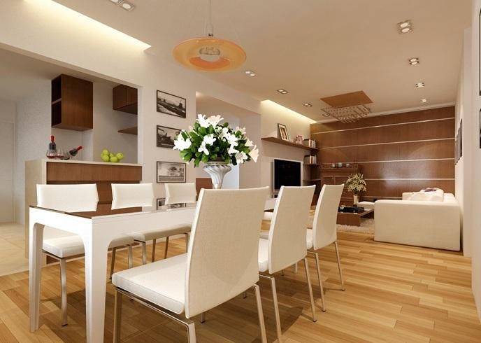 Thiết kế căn hộ chung cư Thanglong Royal Plaza