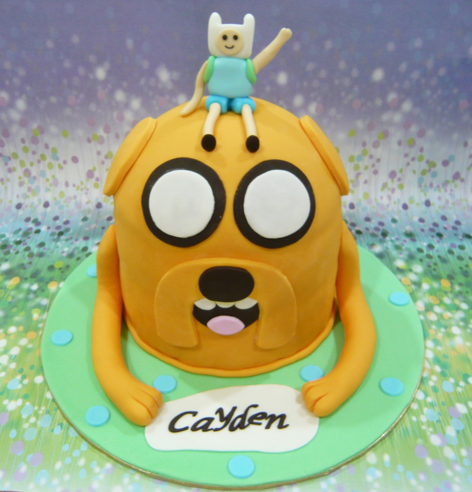 jenn cupcakes muffins adventure time cake