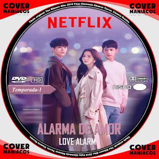 GALLETA ALARMA DE AMOR - LOVE ALARM - JOAHAMYEON ULLINEUN 2019[COVER DVD]