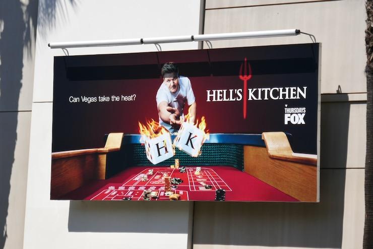 Hells Kitchen season 19 billboard