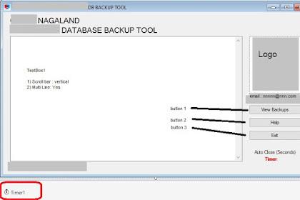 VB.NET Example Code to backup MySQL Database using mysqldump command in VB using Visual Studio 2015