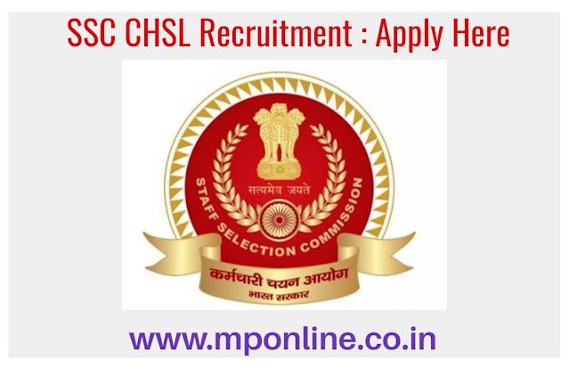 SSC CHSL Apply 2020