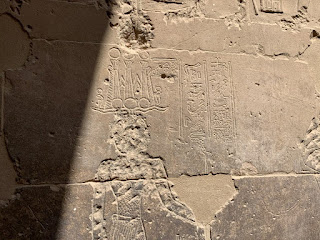 The last known hieroglyphic inscription at Philae