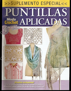 Suplemento Especial Crochet Nro.4 – Puntillas Aplicadas