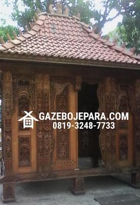 Gazebo Gebyok Antik