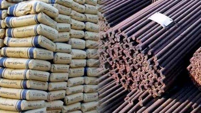 استلام وتشوين مواد البناء (الحديد والطوب والأسمنت والرمل)