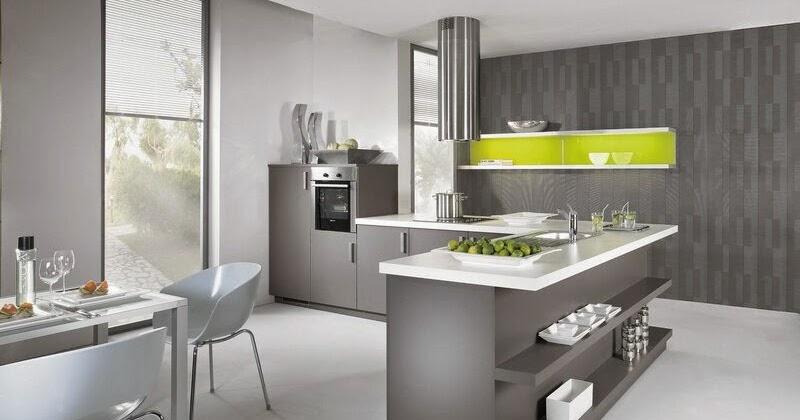 cuisine moderne grise quels sont les meilleurs gadgets si cle cuisine grise. Black Bedroom Furniture Sets. Home Design Ideas