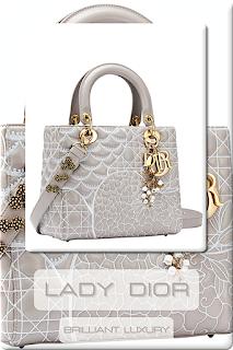 ♦Dior Extraordinairy Lady Dior Bags #dior #bags #ladydior #brilliantluxury