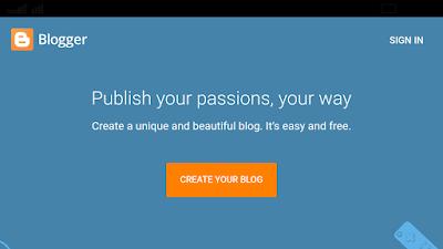 Free Blog Kaise Banaye?
