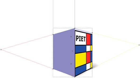 Cajas 3D de Inkscape y la Perspectiva