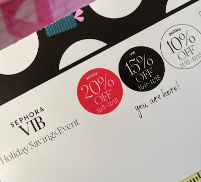 Sephora VIB Sale holiday Savings event