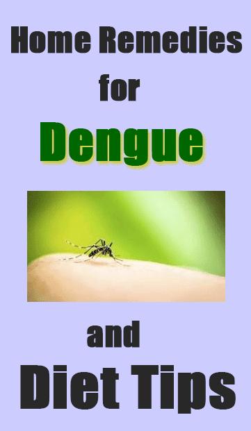 6 home remedy for dengue