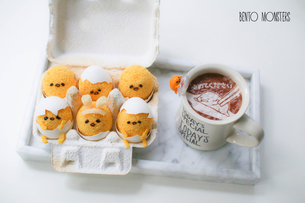 18-Gudetama-Easter-Chiffon-Cake-Li-Ming-Lee-Kyaraben-Bento-Monsters-Themed-Lunch-Art-www-designstack-co