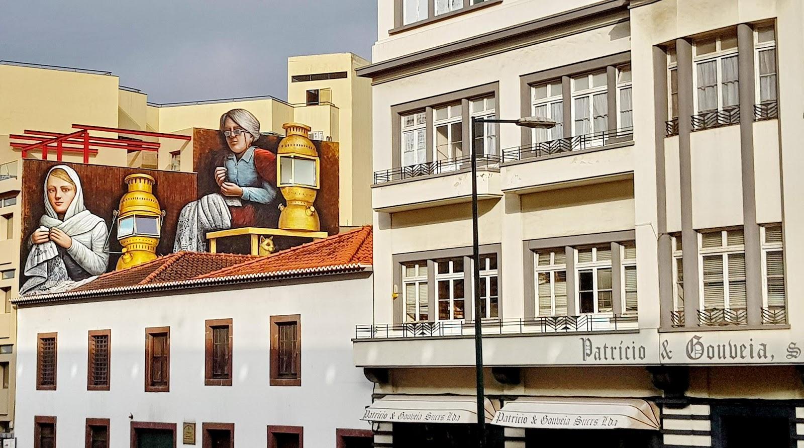 Pintura mural de Marcos Milewski