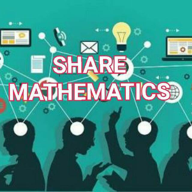 SHARE MATHEMATICS: TELEGRAM MATHS GROUP