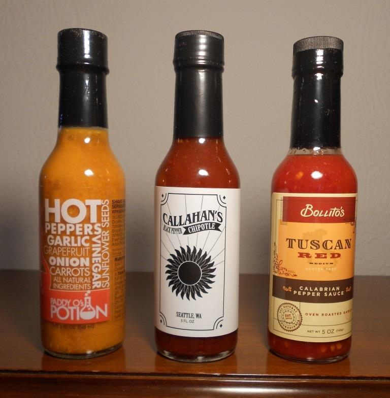 Fuego Box May 2017 Trio of Hot Sauces Image