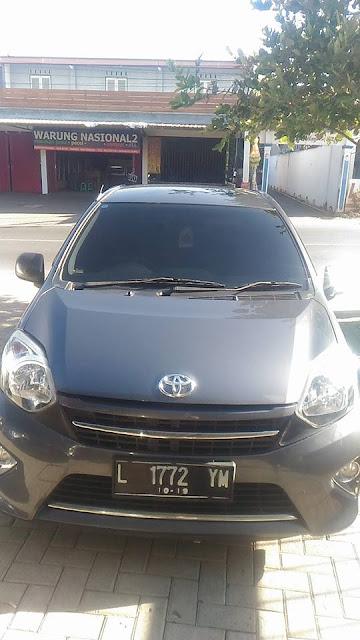 Toyota Agya G tahun 2014 bekas