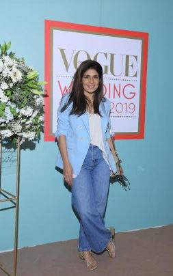 Anaita Shroff Adajania at The Vogue Wedding Show 2019