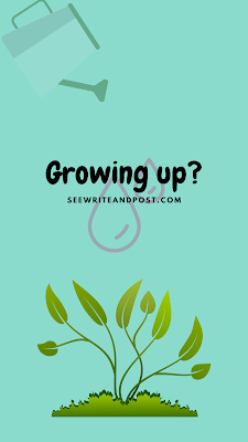 What comes to your mind about growing up   Lisa Maurie