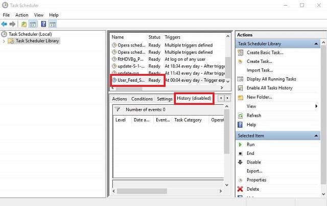 أسباب ظهور الشاشة السوداء Taskeng.exe وكيفية إصلاحها على ويندوز 10