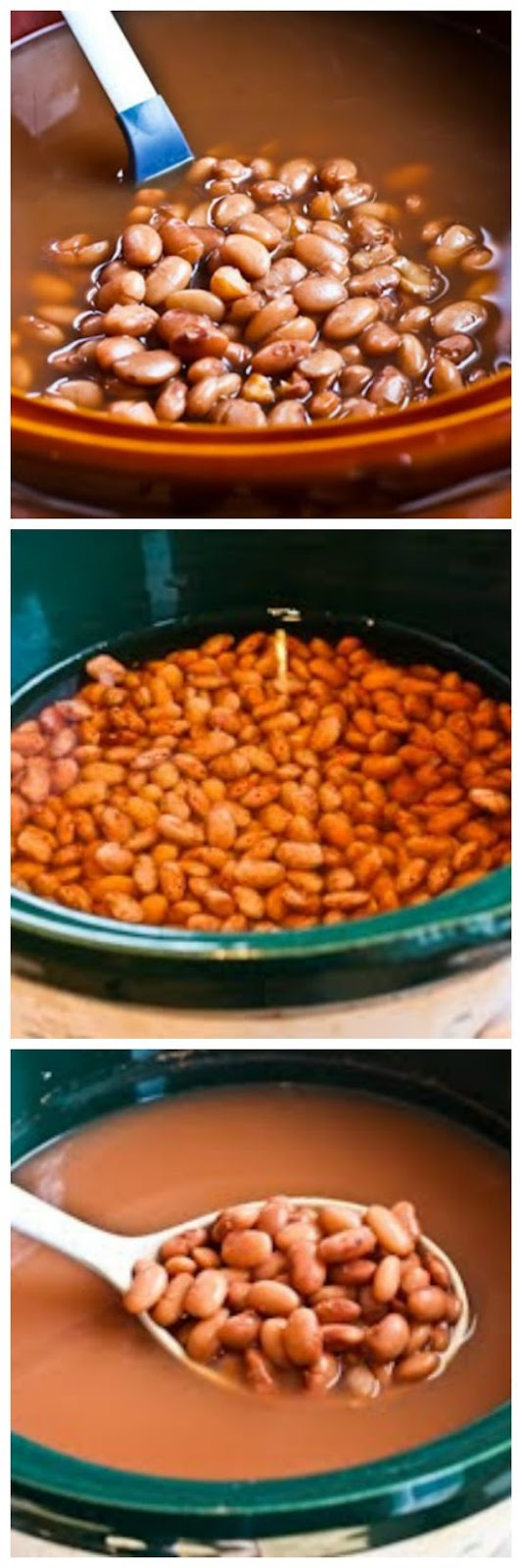 How to Cook Dried Beans in a Slow Cooker from Kalyn's Kitchen [via Slow Cooker from Scratch]