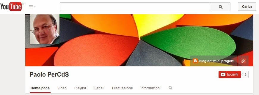 Canale su YouTube
