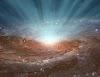 Estudio determina que el agujero negro supermasivo de la Vía Láctea gira lentamente