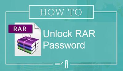 How to Unlock RAR Password Simple Method