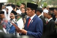 Saat Pemakaman Ani SBY, Jokowi: Hadirin yang Berbahagia