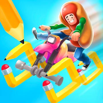 Scribble Rider Hileli APK - Para Hileli APK