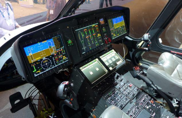 AgustaWestland AW169 cockpit