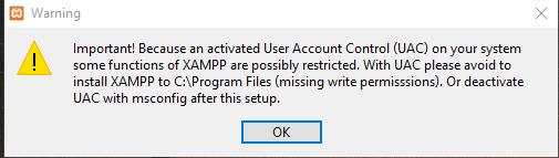 antivirus dan User Account Control