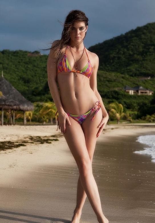 bikini Gambar model