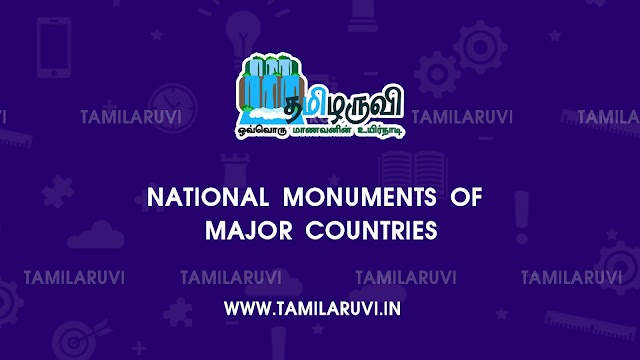 National Monuments of Major Countries