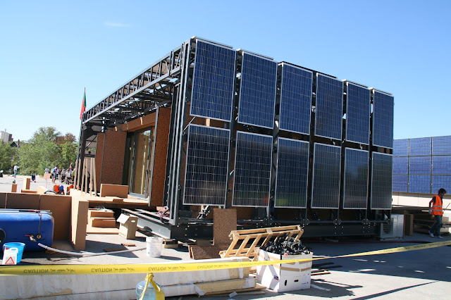 Eco Friendly Shipping Container Offices Being Built