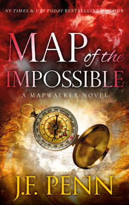 Book Launch Spotlight: Map of the Impossible (Mapwalkers Book 3) by J.F. Penn