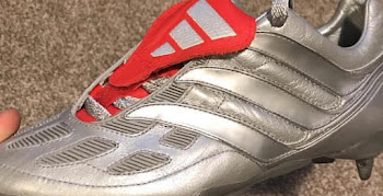 15dbef56d93 Remakes Leaked - Iker Casillas Shows Off Silver Adidas Predator Precision  2000 Boots