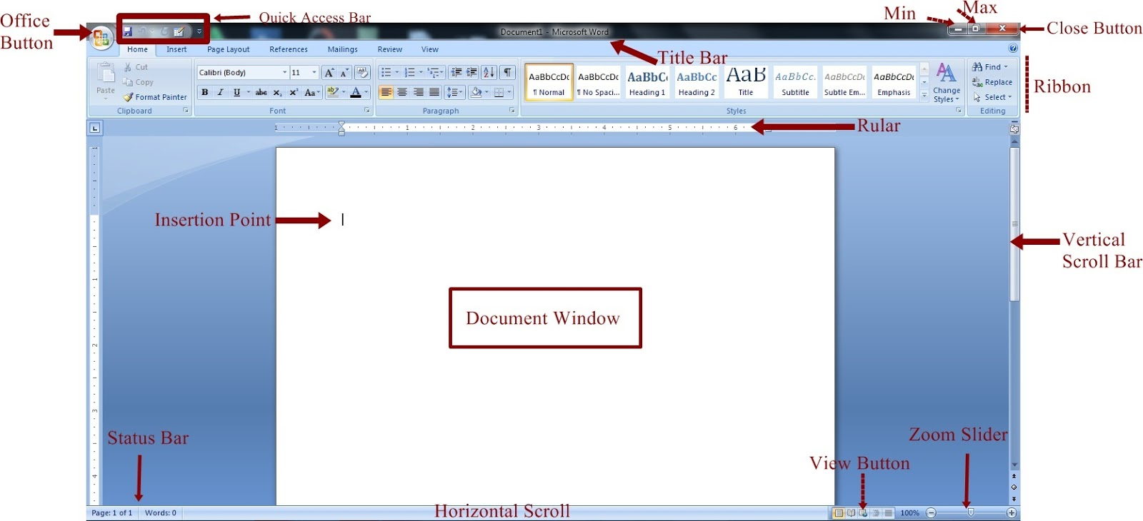 Introduction To Word Processing Programs