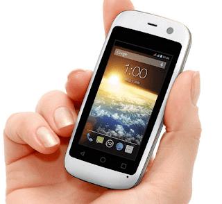 Ini Dia Hp Android Dengan Ukuran Layar Terkecil