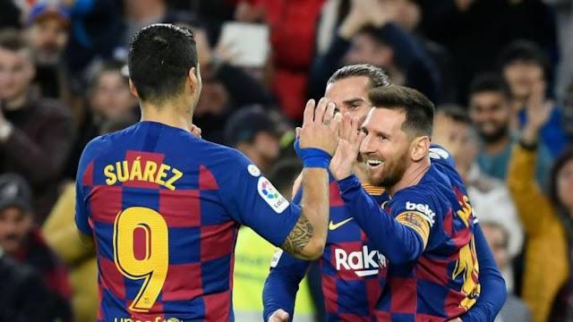 Barcelona end 2019 unbeaten at Camp Nou in La Liga