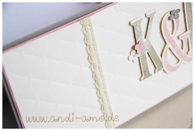 Karte mit Spitze zur Hochzeit andi-amo