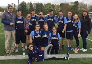 FHS Unified Track competes in Hockomock League Championships