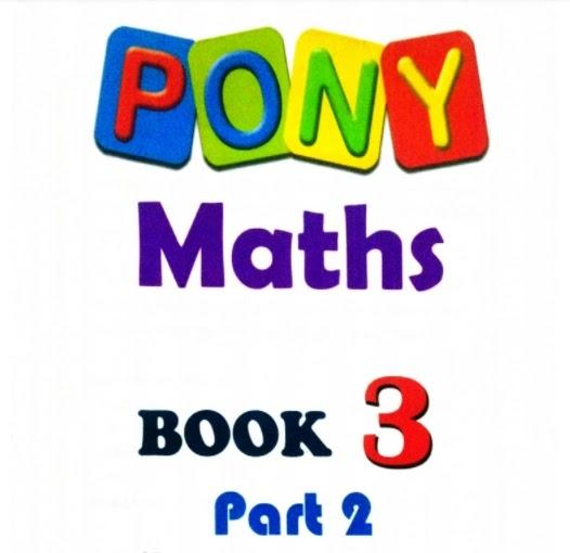 كتاب بونى ماث PONY Maths للصف الثالث الابتدائى لغات الترم الثانى 2021 pdf