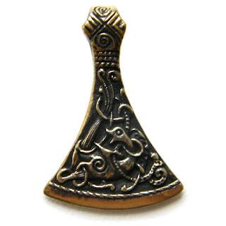 купить украшения из бронзы художественное литье из латуни секира подвеска крым