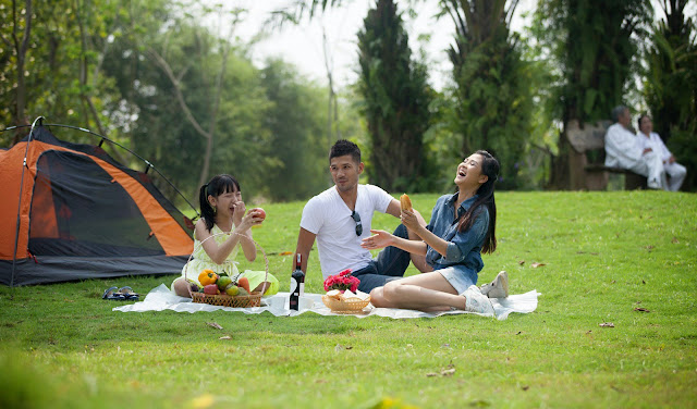 Two Campsites near Hanoi for Families