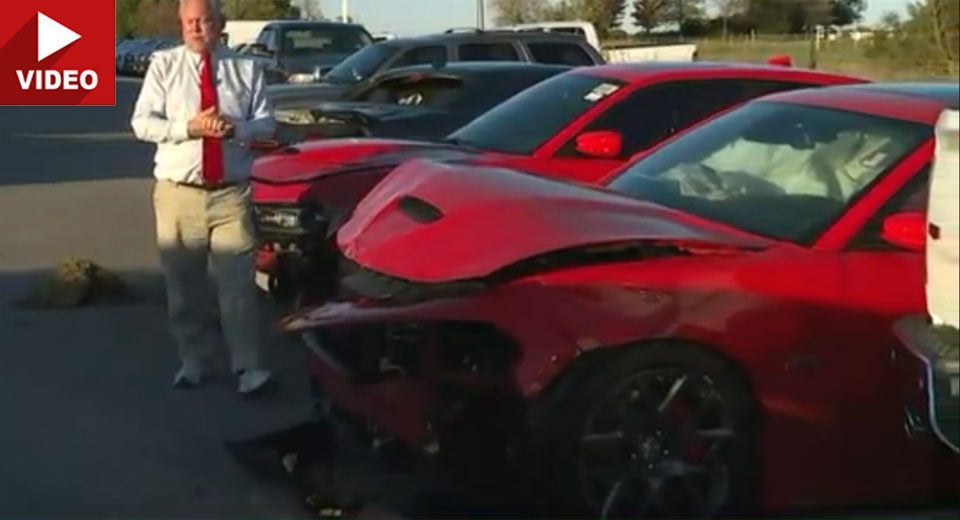 Teens Steal Three Srt Hellcats And Crash Almost Immediately