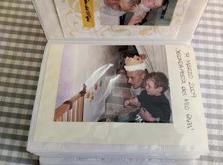 idea per raccogliere ricordi della festa del papà