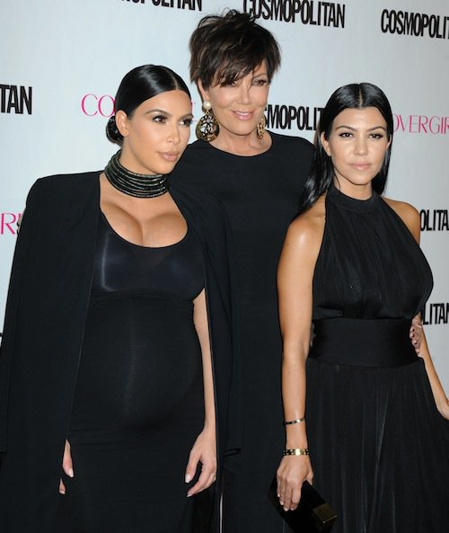 Kourtney and Kim Kardashian, Kris