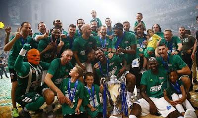Panathinaikos Yunanistan şampiyonu