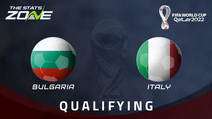 مشاهدة مباراة بلغاريا و ايطاليا بث مباشر